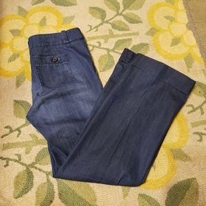 Banana republic classic trouser leg pants
